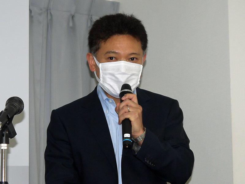 マカフィー マーケティング本部 プロダクト・ソリューション・マーケティング部 部長の平野祐司氏