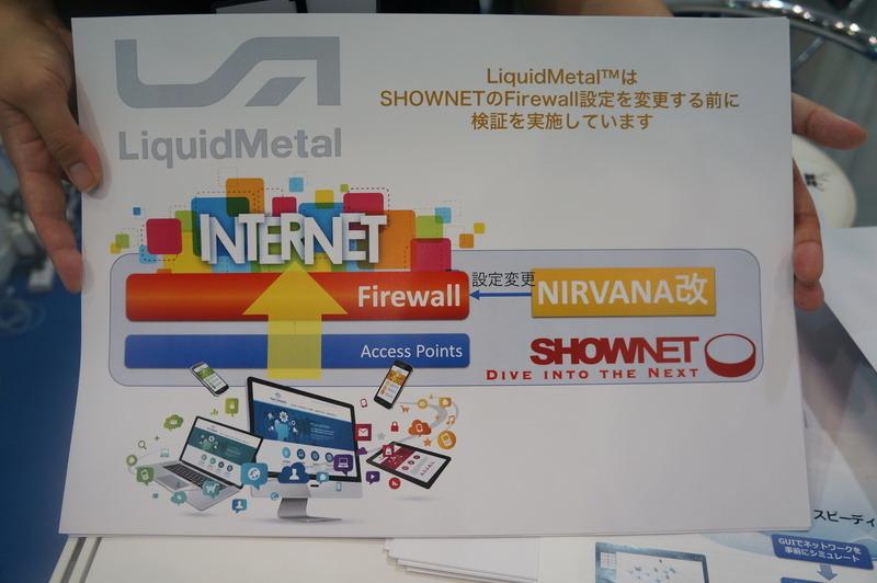 LiquidMetalで扱うShowNetの不正通信ブロック機能