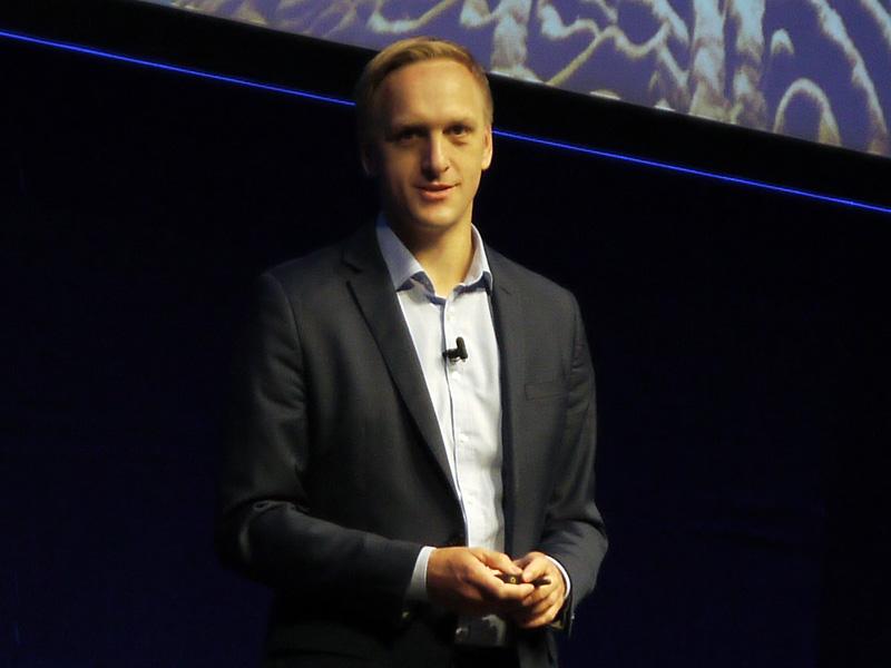 SAP Chief Innovation Officerのユルゲン・ミュラー氏