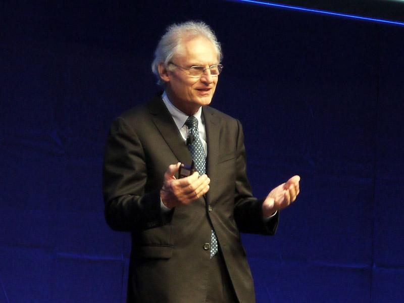 ドイツ工学アカデミー(acatech)会長のヘニング・カガーマン氏