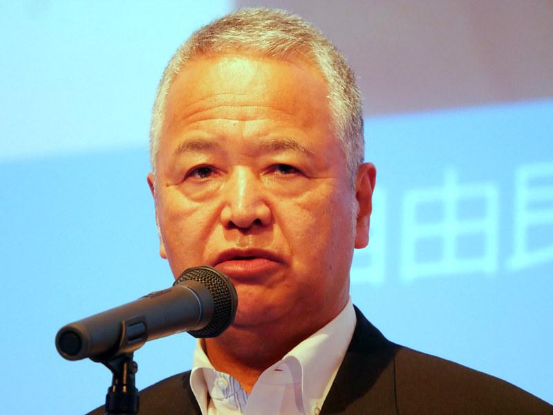 講演では自由民主党 行政改革推進本部本部長である甘利明氏も登壇した