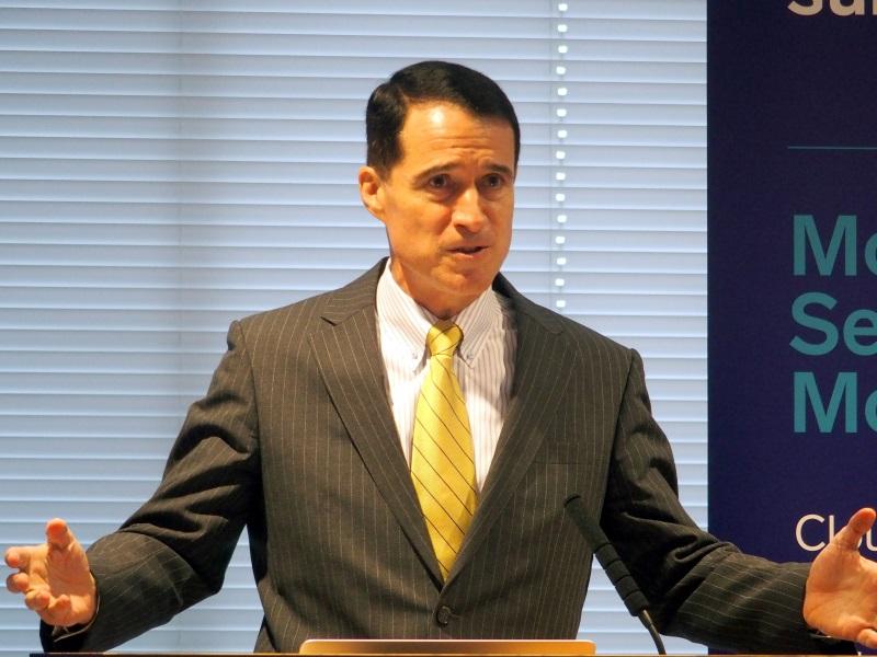 日本法人のカントリーマネージャーに就任したロバート・スチーブンソン氏