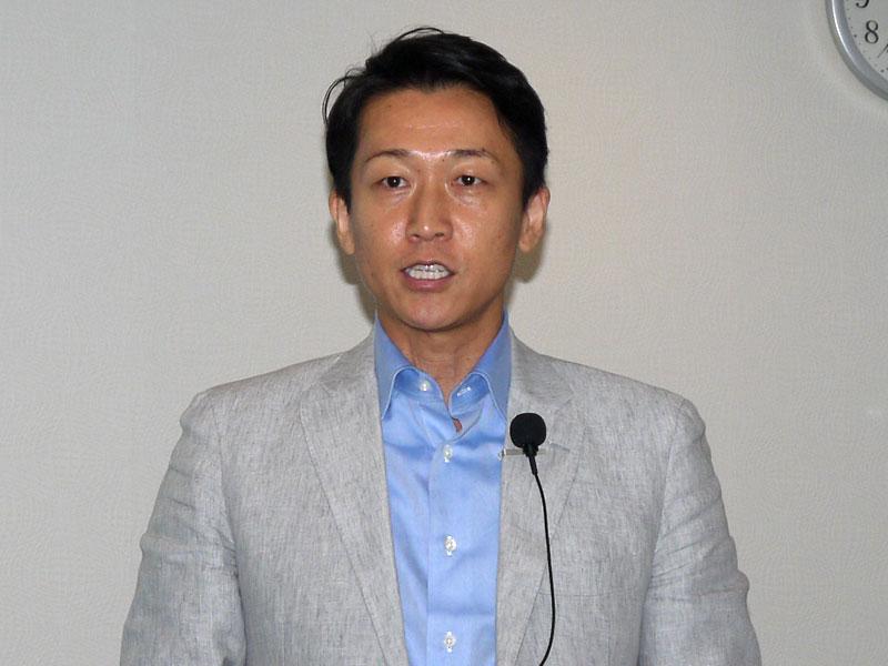 デジタルデータソリューション 代表取締役社長の熊谷聖司氏