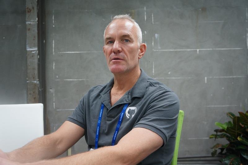 GitHubのPaul St John氏(Vice President of Sales)