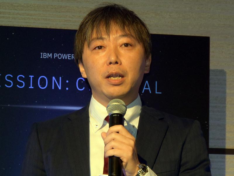 ニトリホールディングス 情報システム改革室 ICTインフラ戦略担当ディレクターの荒井俊典氏