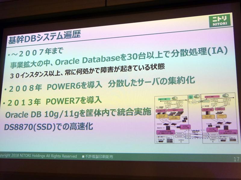 基幹データベースの遍歴