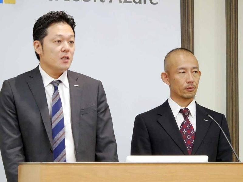 GMOインターネット クラウド事業部の高田幸一部長(左)と、GMOインターネット システム本部チームエグゼクティブの樋口勝一氏(右)