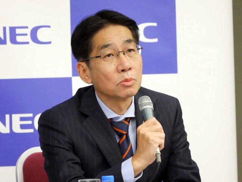 NECの森田隆之 代表取締役執行役員副社長兼CFO