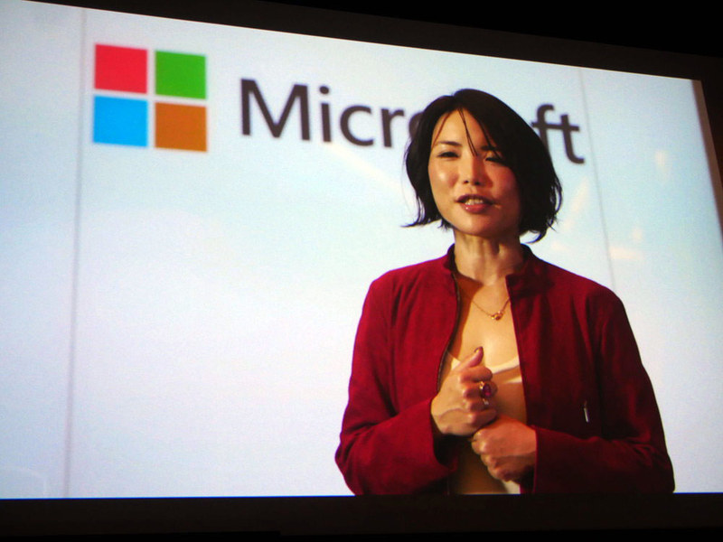 ビデオでイベントの概要を説明した日本マイクロソフト Microsoft 365 ビジネス本部長の三上智子業務執行役員