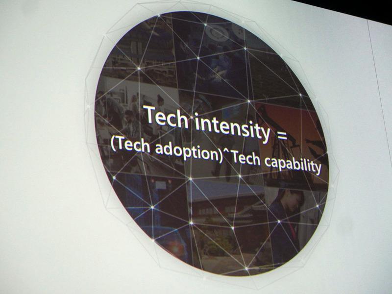 ナデラCEOは、Tech Intensityを打ち出した