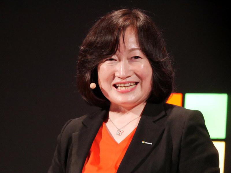 日本マイクロソフト 執行役員常務 デジタルトランスフォーメーション事業本部長の伊藤かつら氏