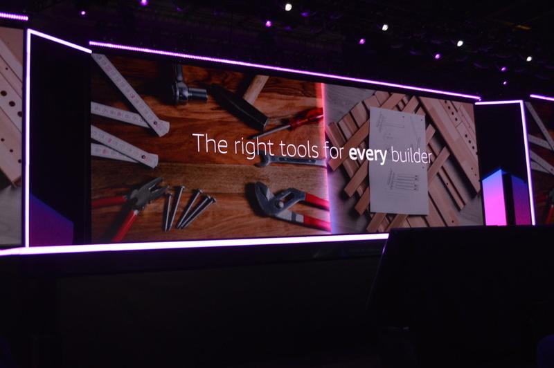 2つ目のテーマであり、ジャシーCEOが今回多用していたフレーズとほぼ同義の「The right tools for every builder」