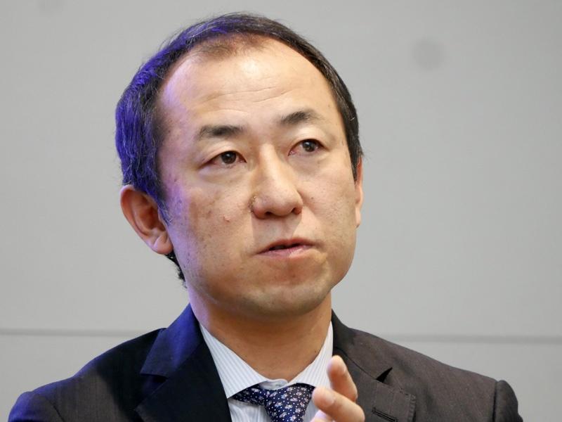SAPジャパン バイスプレジデント ソリューション統括本部長の森川衡氏