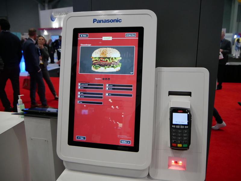 すでにパーガーキングなどに導入されている店舗内オーダーシステム