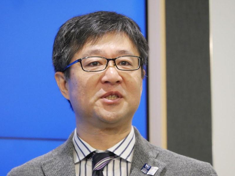 NEC 執行役員兼CMOの榎本亮氏