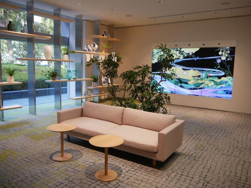 NEC Future Creation Hubの「Welcome Zone」