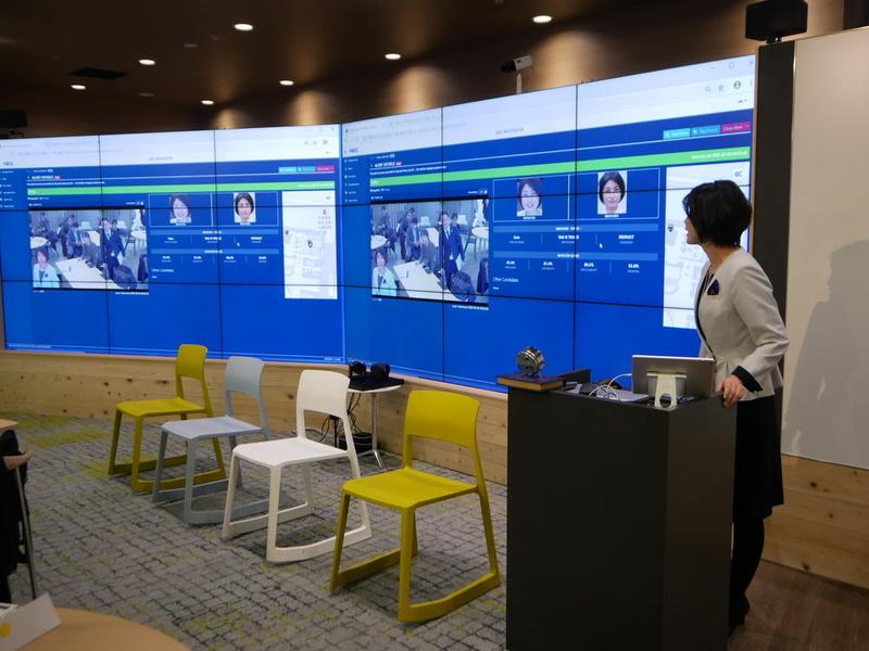 「Collaboration Zone」はアイデアを出し、具体的な共創を行う場としている