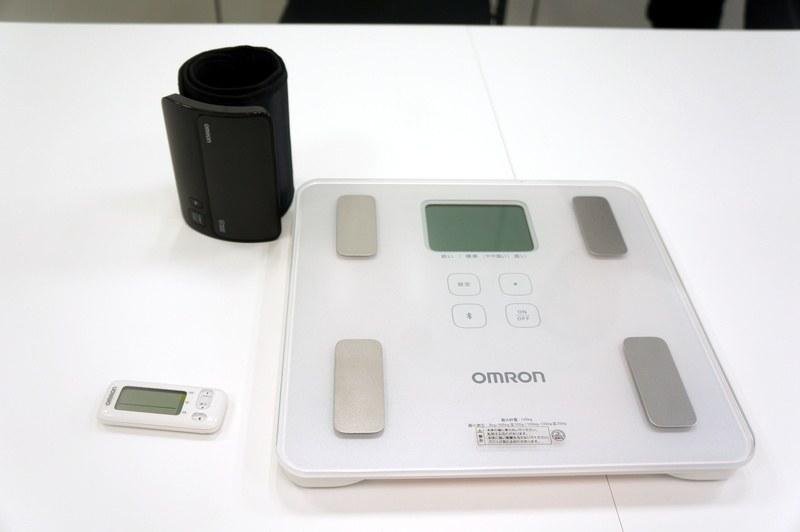 オムロンヘルスケアの健康医療機器