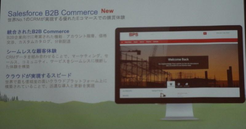 B2B Commerceの特徴