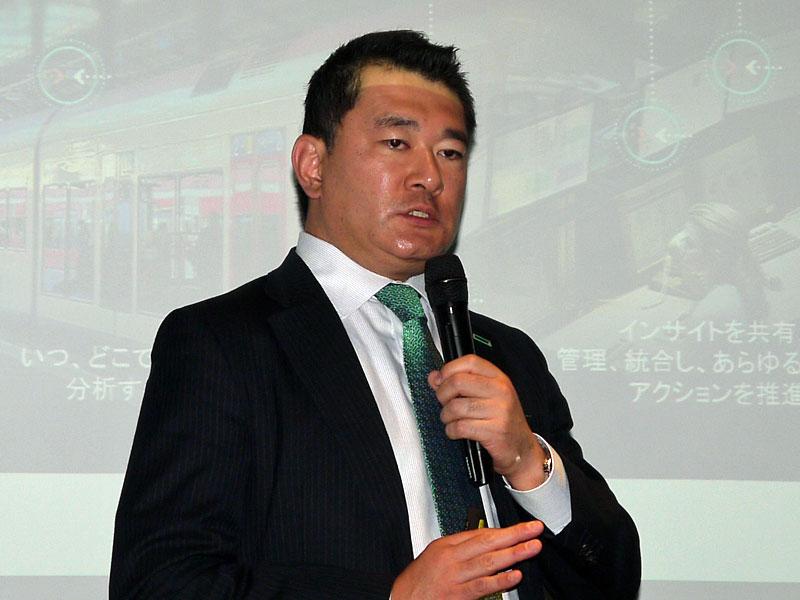 日本ヒューレット・パッカード ハイブリッドIT事業統括 執行役員の五十嵐毅氏