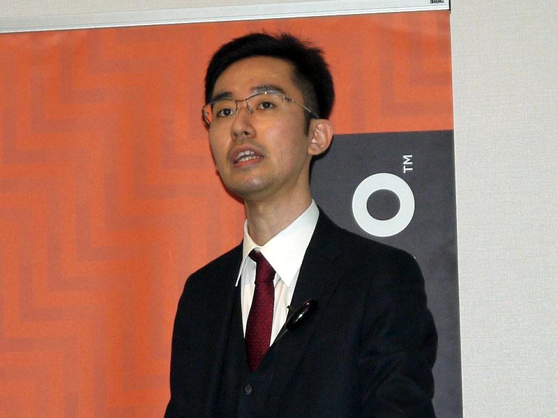 レノボ・ジャパン コマーシャル事業部 企画本部 製品企画部 プロダクトマネージャーの元嶋亮太氏