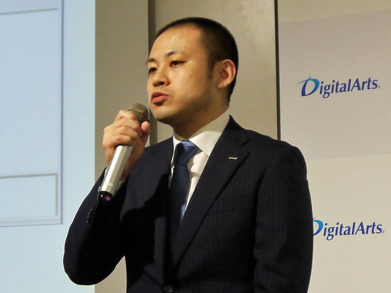 デジタルアーツ 開発部Internetデータラボ課の細谷計介氏