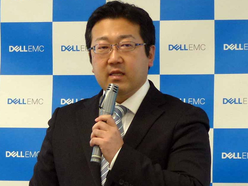 Dell EMC 広域営業統括本部 デジタルセールス&広域営業本部長 木村佳博氏