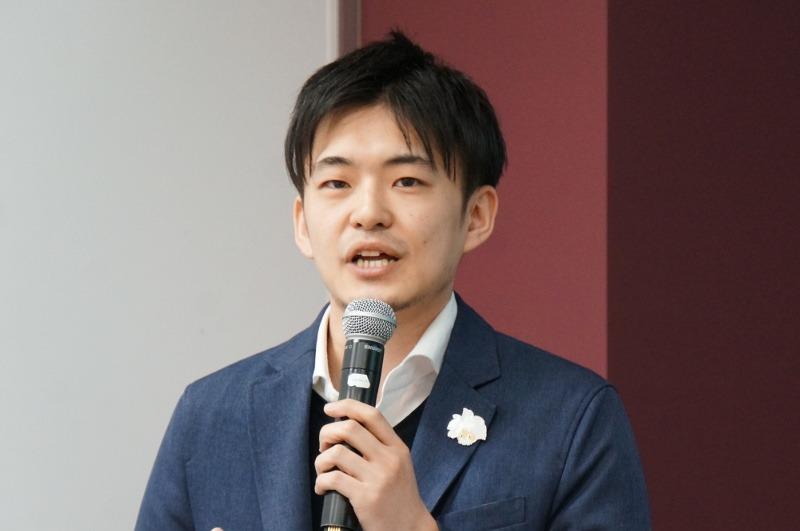 セールスフォースの早川和輝氏(マーケティング本部 プロダクトマーケティング マネージャー)