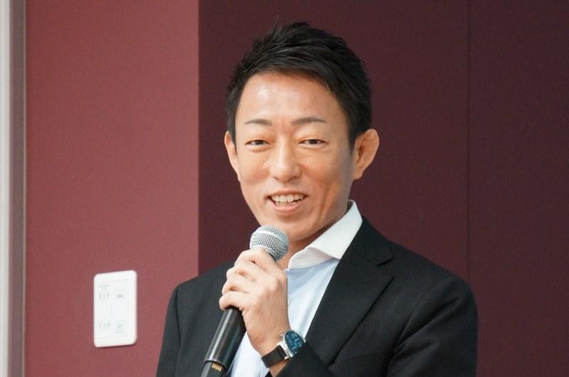 セールスフォースの大森浩生氏(マーケティング本部 プロダクトマーケティング シニアマネージャー)