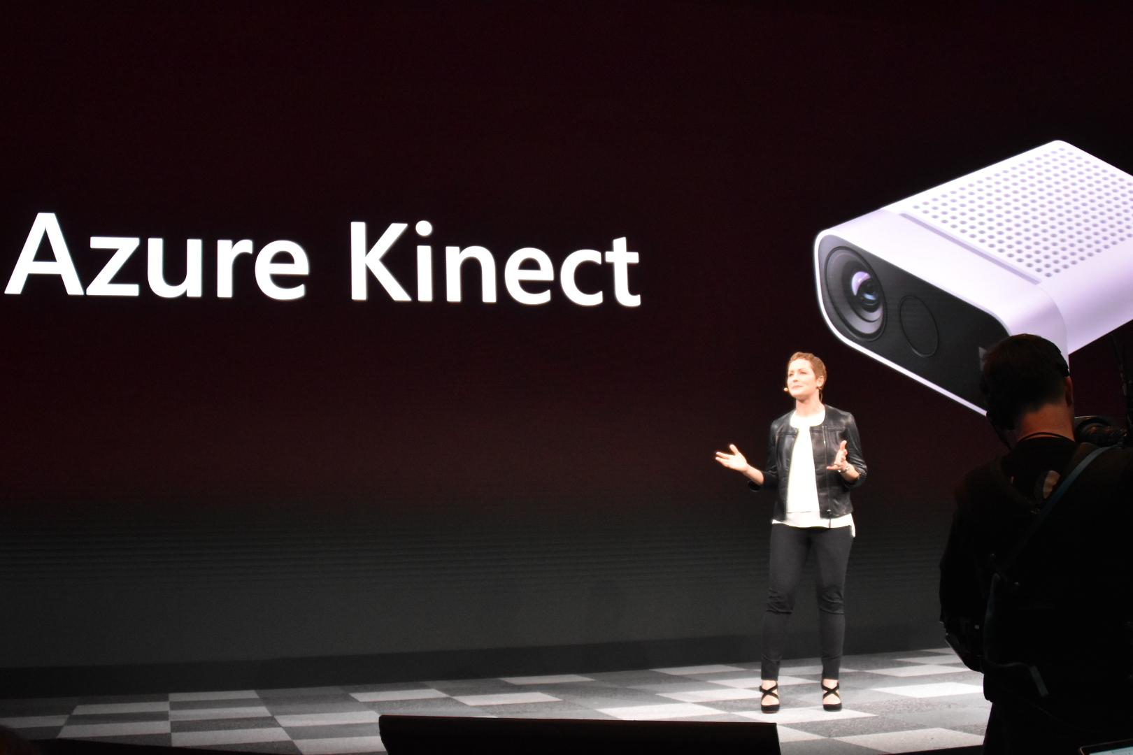 HoloLens 2と同時にAzure Kinectも発表された