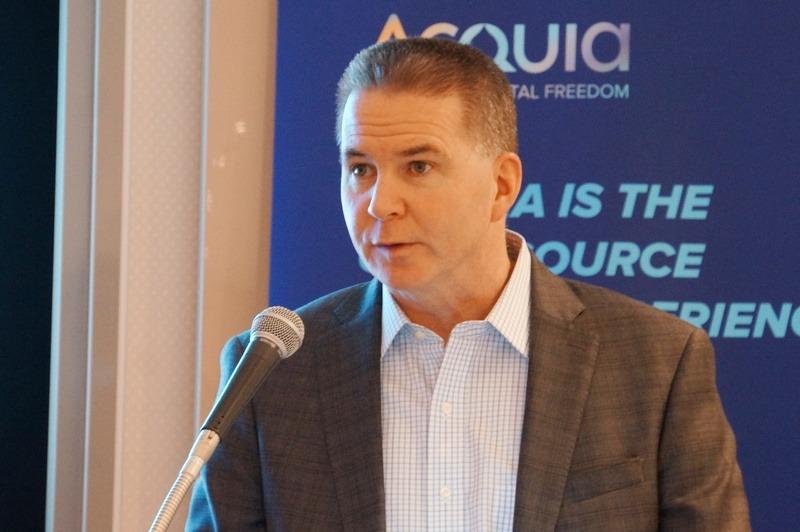 Acquia社CEOのマイク・サリバン氏