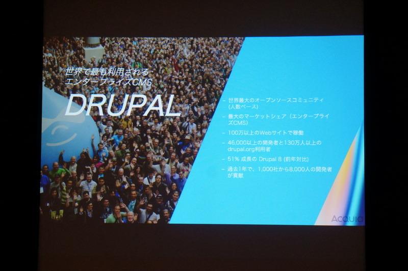 Drupalの実績