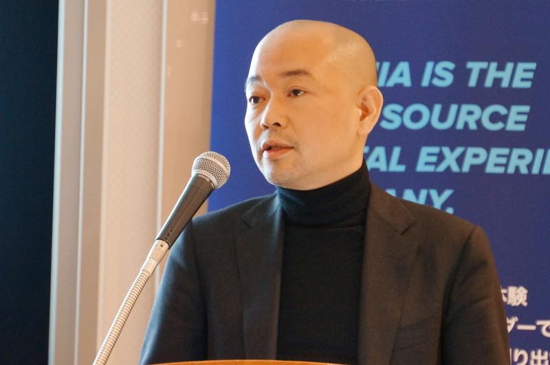アクイアジャパンのセールスマネージャーの上田善行氏