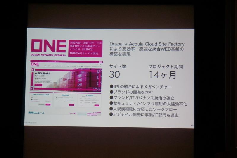 ONEジャパンの事例。多言語30サイトを構築