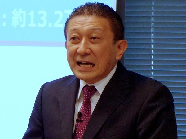 トレンドマイクロ 取締役副社長 大三川彰彦氏