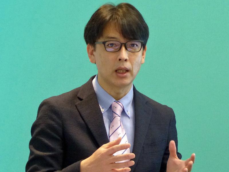 パロアルトネットワークス サイバーセキュリティ営業本部 セールスマネージャー 広瀬努氏