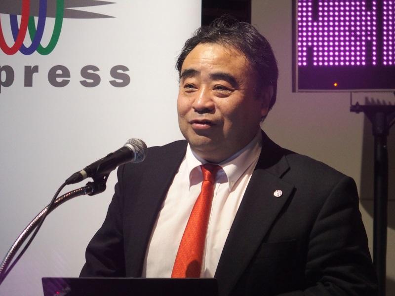 写真1:東京大学大学院 情報理工学系研究科教授の江崎 浩氏
