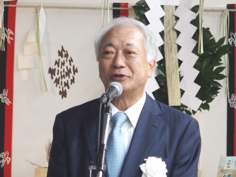 IIJ代表取締役社長の勝栄二郎氏