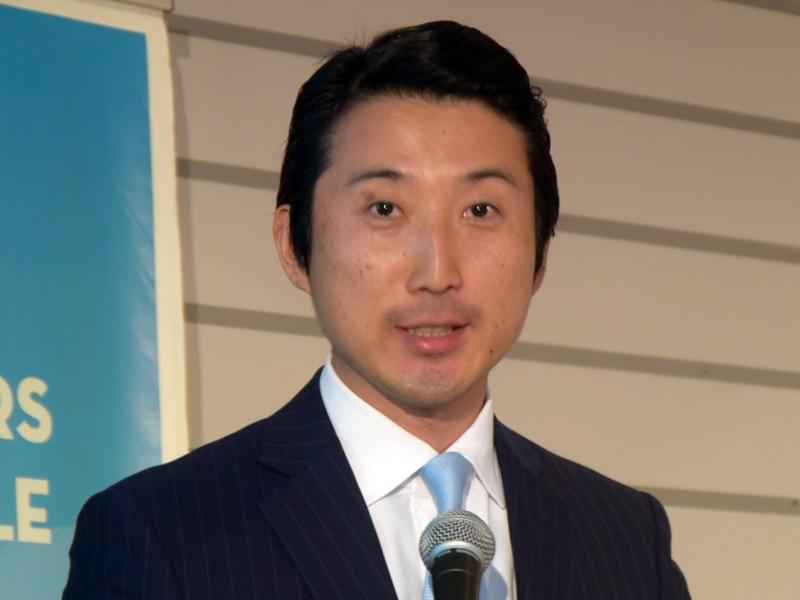 常務執行役員 アライアンス本部 本部長の井上靖英氏