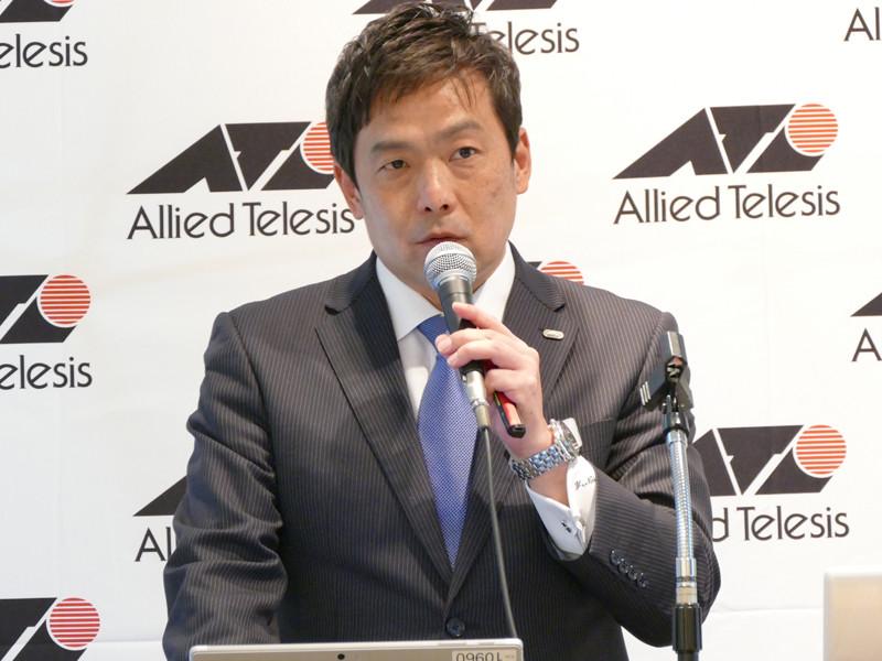 アライドテレシス 上級執行役員 サイバーセキュリティDevops本部 本部長の中島豊氏