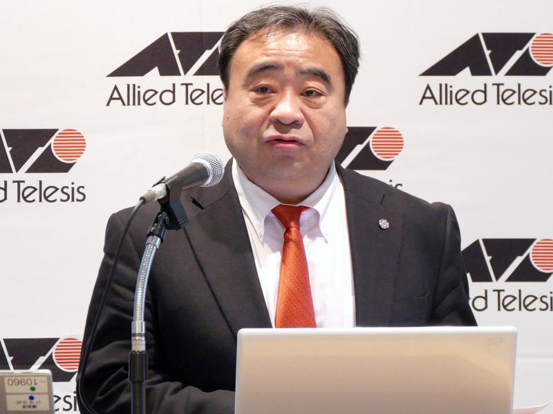 東京大学 大学院 情報理工学系研究科 教授の江崎浩氏