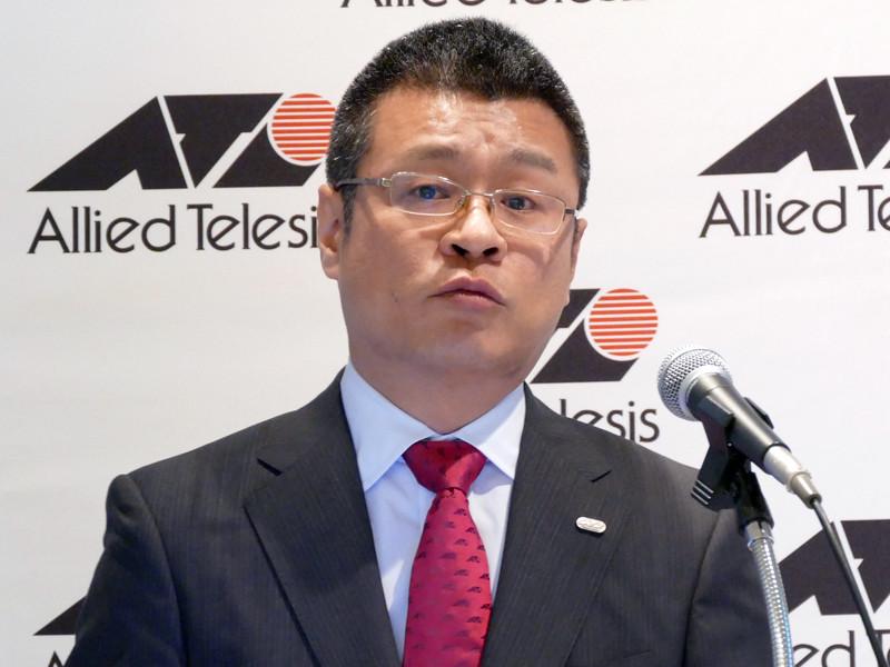 アライドテレシス マーケティング統括本部 Product Integration Engineering部 部長の瀧俊志氏
