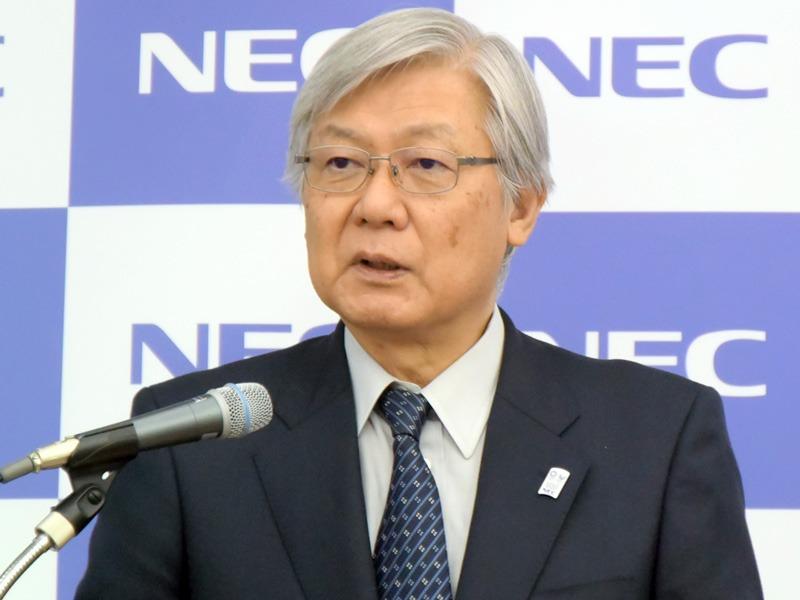 代表取締役執行役員社長兼CEOの新野隆氏