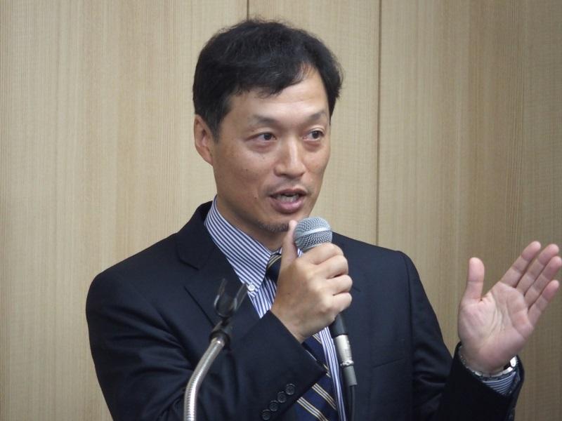 タレスグループのCPL事業本部本部長を務めるジェムアルトの中村久春氏