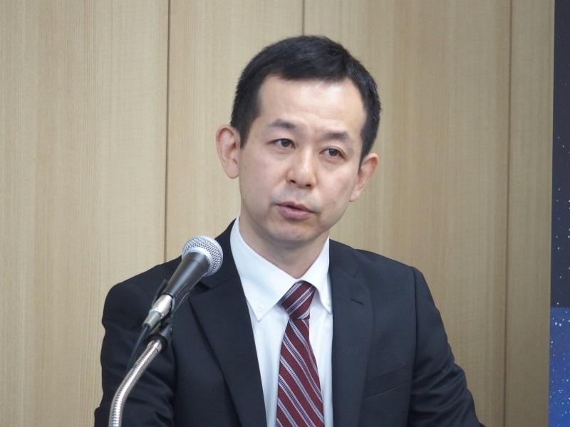 タレスジャパンの畑瀬宏一氏