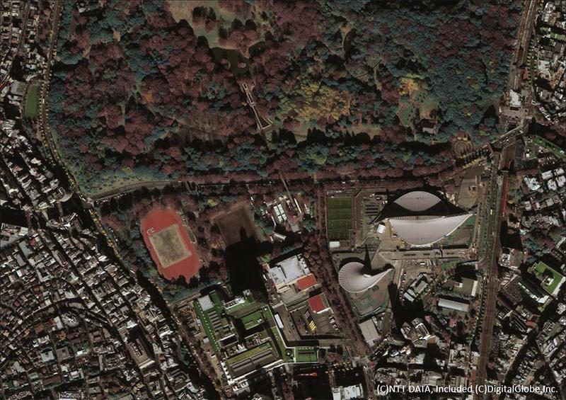 30~40cm解像度衛星画像