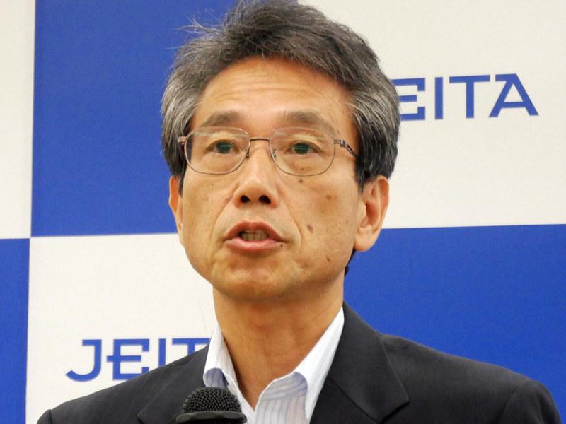 JEITA ITプラットフォーム事業委員会の石井昌宏委員長(三菱電機インフォメーションネットワーク)
