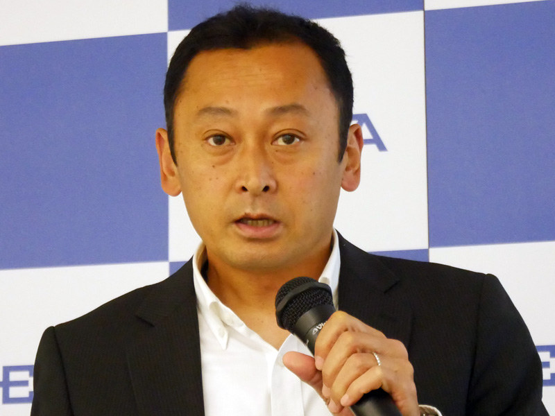 JEITA プラットフォームグリーンIT専門委員会の上原淳委員長(NEC)