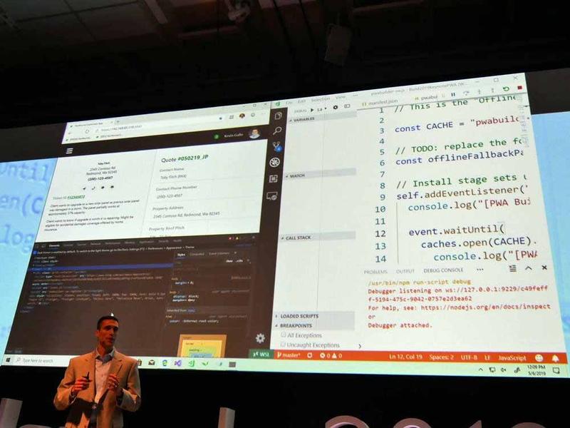 Microsoft Windows Subsystem for Linux 2のデモ