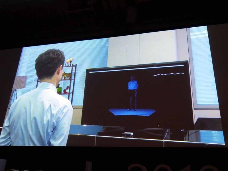 Azure Kinectによって、心拍を推測するデモ
